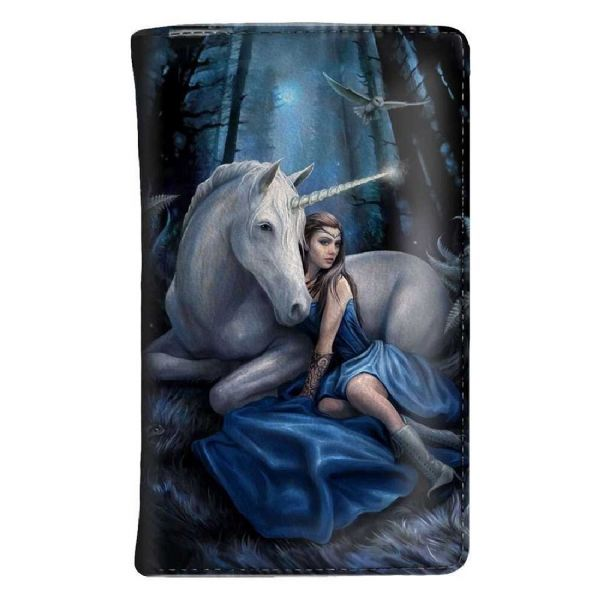 ANNE STOKES Blue Moon Unicorn Purse by Nemesis Now